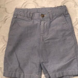 Polo Ralph Lauren blue oxford chino shorts